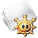 Folder Games Shine Sprite Icon