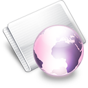 Folder Online grape Icon