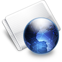 Folder Online network Icon