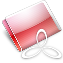 Folder RAD E8 strawberry Icon