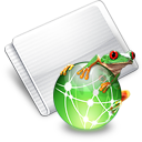 Folder Web Jumper Icon