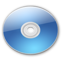 Optical Disk Aqua aqua Icon