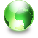 Sphere lime Icon