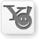 Yahoo Messenger White Icon