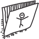 folder drawings Icon