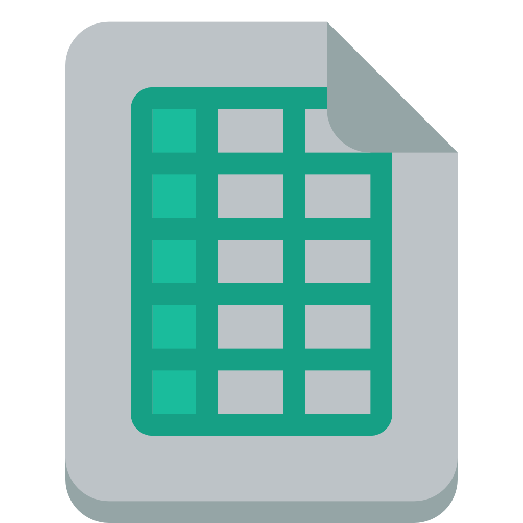 file excel Icon