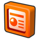 microsoft office 2003 powerpoint Icon