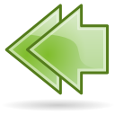 Arrow double left Icon