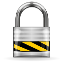 Authentication Lock Icon