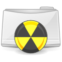 Extras folder burn Icon