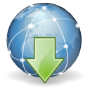 Extras internet download Icon