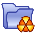 Clipper Burn Folder Icon