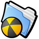 Smoothicons Burn Folder Icon