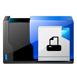 Folder Printer Fax Vector Icons Free Download In Svg Png Format