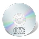 AUDIO disc Icon