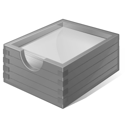 4 Disabled Paper Box Icon