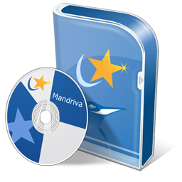 Mandriva disc Icon