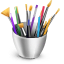 Art supplies Icon