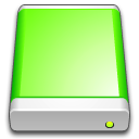 Lime Drive Icon