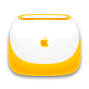 Tangerine iBook Icon