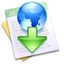 Downloaded File Icon
