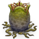 Alien Egg Open Icon