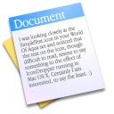 The Documents Icon
