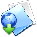 Internet Downloads Folder Icon