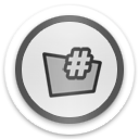 folder sharp Icon