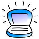 iBook Blueberry Icon