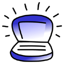 iBook Indigo Icon
