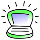 iBook Key Lime Icon