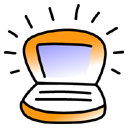 iBook Tangerine Icon