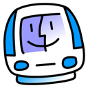 iMac Blueberry Icon