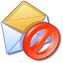 Block Junk Mail Icon