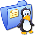 Folder Blue Linux Icon