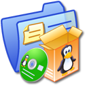 Folder Blue Software Linux Icon