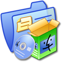 Folder Blue Software Mac Icon