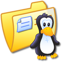 Folder Yellow Linux Icon
