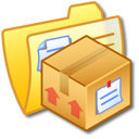 Folder Yellow Stuff Icon