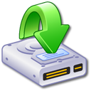 Hard Drive Downloads 2 Icon