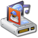 Hard Drive Music 1 Icon
