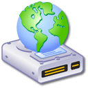 Hard Drive Network 2 Icon