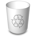 niZe   Bin Empty Recycle Icon