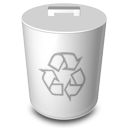 niZe   Bin Full Recycle Icon