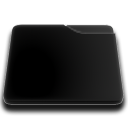 niZe   Folder Blank Black Icon