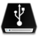 niZe   Removable Drive Glow Icon