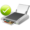 Default printer Icon