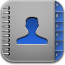 contacts blue Icon