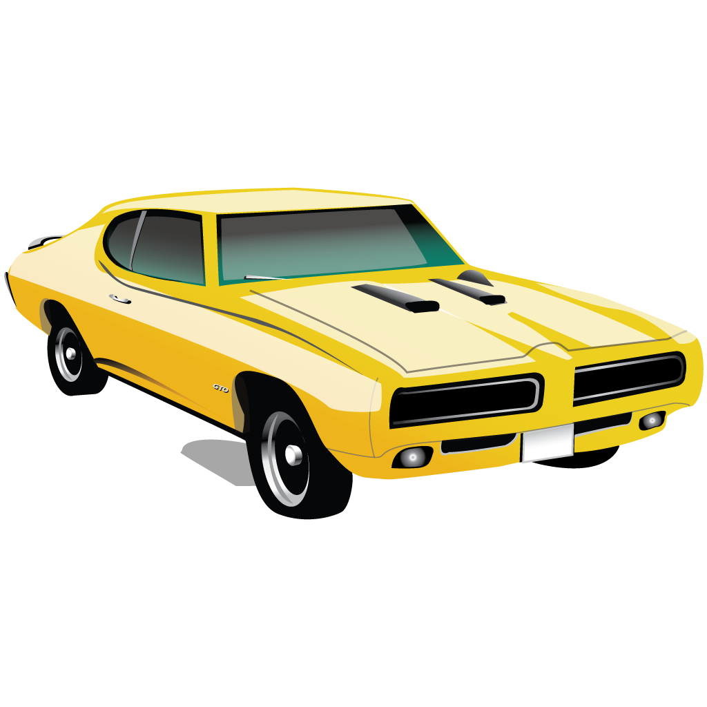 Muscle Car Pontiac Gto Icon Free Download As Png And Ico Formats